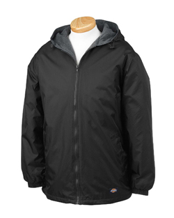 Dickies Adult 8.0 Ounce Fleece Lined Ripstop Nylon Jacket