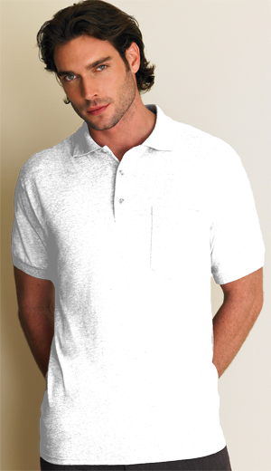 Gildan Dryblend® Adult 6.0 Ounce Jersey Sport Shirt with Pocket