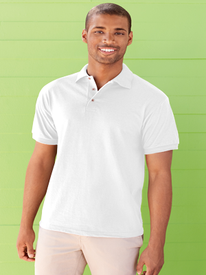 Jerzees® Adult 5.6 Ounce Heavyweight Blend™ 50/50 Poly/Cotton Jersey Polo